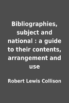 Bibliographies, subject and national : a…