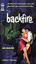 Backfire by Dan Marlowe