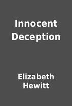 Innocent Deception by Elizabeth Hewitt