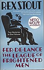 Fer-de-Lance by Rex Stout