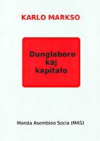 Dunglaboro kaj kapitalo by Karl Marx