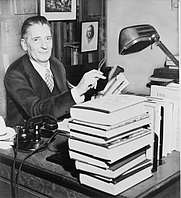 Author photo. World Telegram & Sun photo by Al Ravenna, 1943 (Library of Congress Prints and Photographs Division, LC-USZ62-111615)