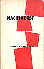 Nachtvorst by Jeanne van Schaik-Willing