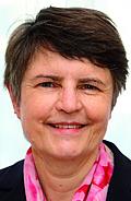 Author photo. Barbara Beuys (Foto © Carl Hanser Verlag)