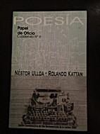 Poesia: papel de oficio, no. 6 by Nestor…