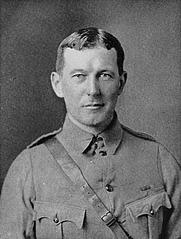 Author photo. Image from <b><i>In Flanders fields, and other poems, by Lieut.-Col. John McCrae, M.D., with an essay in character, by Sir Andrew Macphail</i></b> (1919)