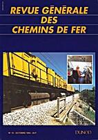 Revue Générale des Chemins de Fer, n°10 -…