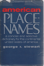 American place-names; a concise and…