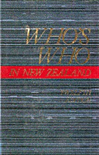 Who's Who in New Zealand by Max Lambert