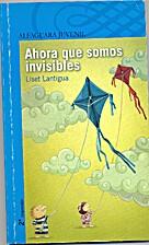 Ahora que somos invisibles by Liset Lantigua