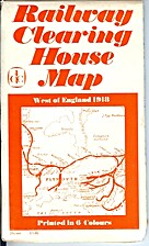 Railway Clearing House Map: West of England,…