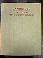 Cambridge : its colleges and university…