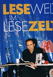 Author photo. Bookfair Frankfurt 2002 - Dimitré Dinev By Eule2020 - Own work, Public Domain, <a href=&quot;https://commons.wikimedia.org/w/index.php?curid=11467862&quot; rel=&quot;nofollow&quot; target=&quot;_top&quot;>https://commons.wikimedia.org/w/index.php?curid=11467862</a>