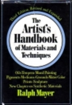 The Artist's Handbook of Materials and…