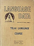 Tolai language course by Karl J. Franklin