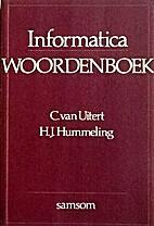 Informatica woordenboek by C. van Uitert