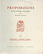 Proporzioni Studi di Storia dell'Arte by…