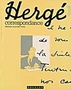 Hergé, correspondance by Hergé