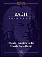 Choräle - Geistliche Lieder Chorals -…