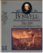 Boswell, the English Experiment, 1785-1789…