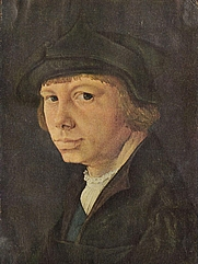 Author photo. Self-Portrait, early 16th century.