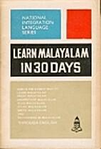 Learn Malayalam in 30 Days, 25th Edition…