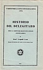 Historio dil Delegitaro por la adopto di…