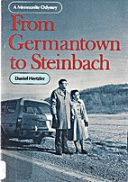 From Germantown to Steinbach: A Mennonite…