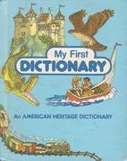 My First Dictionary by Stephen Krensky