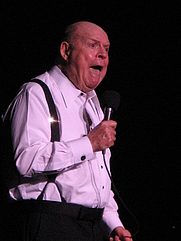 Author photo. Don Rickles in 2008 [credit: Gary Dunaier]