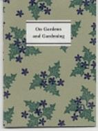 On gardens and gardening by Elisabeth Hyder