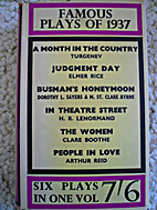 FAMOUS PLAYS OF 1937 by Unknown