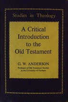 Critical Introduction to the Old Testament…