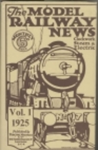 Model Railway News  : 1925 v. 1 by…