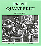 Print Quarterly: The Scholarly Journal on…
