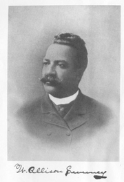 Author photo. From &quot;History of the American Negro in the Great World War,&quot; W. Allison Sweeney, 1919