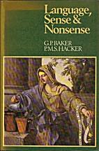 Language, Sense and Nonsense: A Critical…