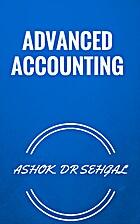 ADVANCED ACCOUNTING by ASHOK. DR SEHGAL