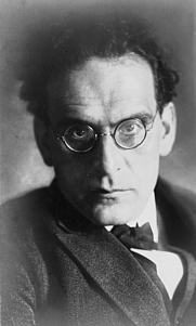 Author photo. Otto Klemperer, year and photographer unknown.