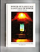 Power of Language Language of Power by David…