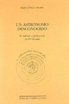 Un astrónomo desconocido. El debate…