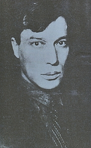 Author photo. Boris Pasternak (book cover)