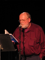 Author photo. Ron Silliman in 2005 [credit: Jordan Davis; grabbed from Wikipedia]