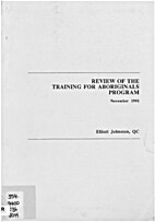 Review of the Training for Aboriginals…