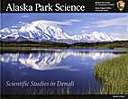 Alaska Park Science [Vol 5, issue 1]:…