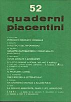 Quaderni piacentini n. 52/1974 by Various…