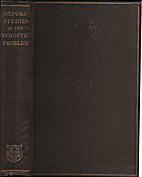 Studies in the synoptic problem by W. Sanday