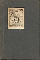 Walls (SC) by Forman Brown