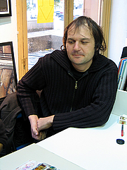 Author photo. Credit: Jean-Noël Lafargue, 2004, Paris, France