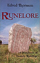 Runelore by Edred Thorsson